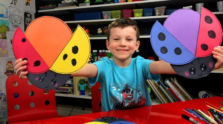 How To Make Ladybugs With Primary And Secondary Colors