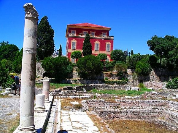 Roman Ruins and the Matisse Museum, Cimiez, Nice