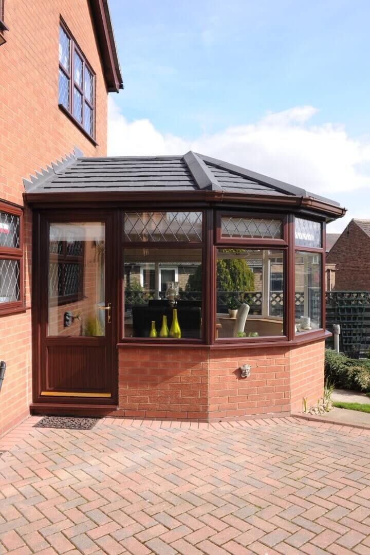 Image Result For Side Conservatory With Tiled Roof Ventanas