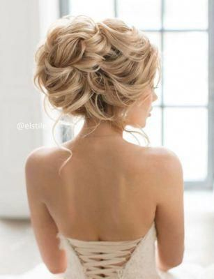 Wedding Hairstyle Inspiration - Elstile #bridalUpdos