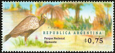 Dusky-legged Guan stamps - mainly images - gallery format