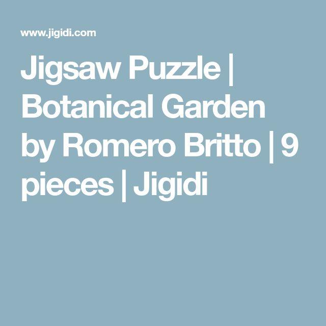 Jigsaw Puzzle | Botanical Garden by Romero Britto | 9 pieces | Jigidi