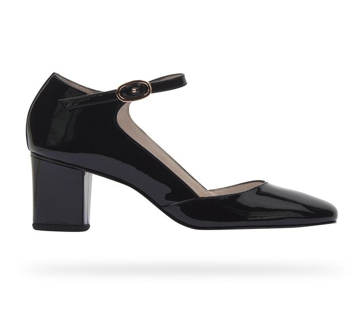 Mary Jane Dolly Black Patent Leather by Repetto #RepettoShoes #WomenShoes  #Ballerina #Black