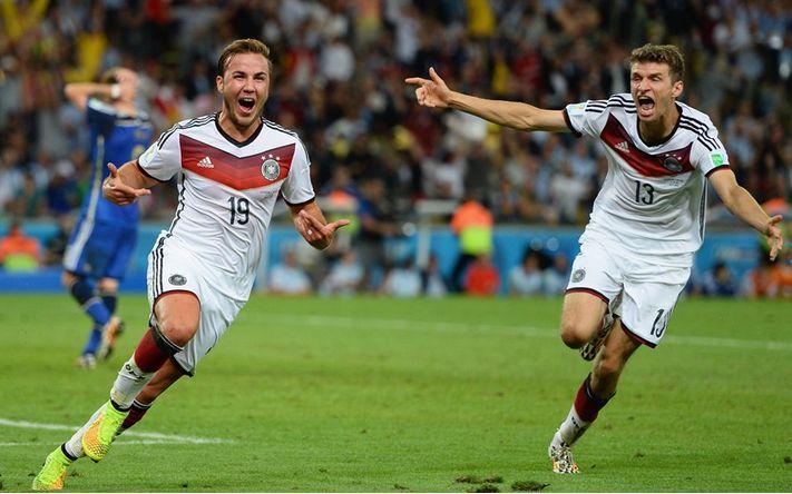 """Argentina Tumbang di Final Piala Dunia, """"Jerman Pemenang Piala Dunia 2014 di Brasil"""", Mario Goetze pahlawan jerman piala dunia 2014"""