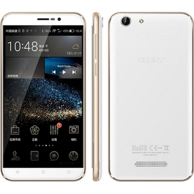 Cubot Note S (16GB) White