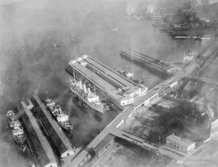 Old Aerial Photo of Vancouver AV-11