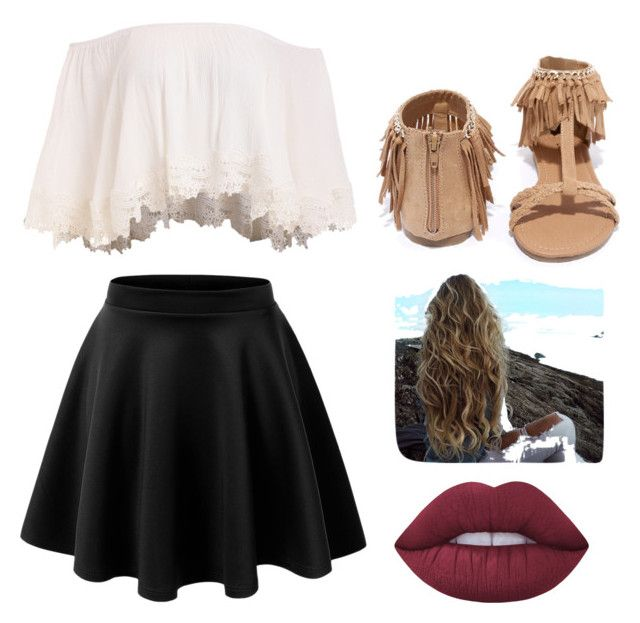"""""""Family Reunion Outfit"""" by melina-velasco on Polyvore featuring Qupid and Lime Crime"""