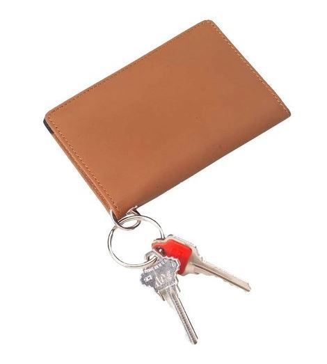 For teens who constantly misplacing keys, cards or ID, this tasteful, combined ID holder and key chain could be the perfect solution. #Wallet #Teen Wallet