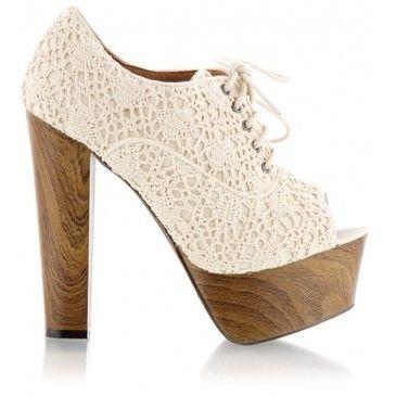 Wooden #Heels