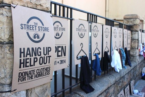 The Street Store | The World's First Pop-up Charity Store | Cape Town