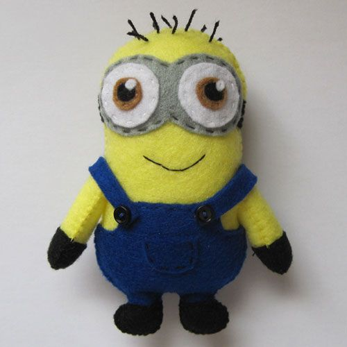 Felt Minion - just cos. He might even make it as a farmer. ;)