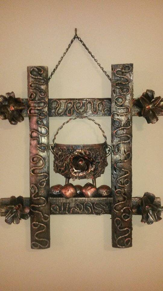 Tokreen kettle in frame - Anwa