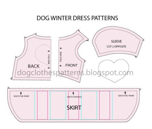 dog dress pattern