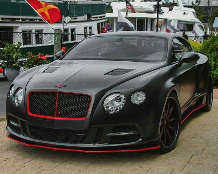 Custom Black On Black Bentley Continental Gt Ride