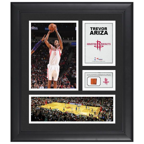 """Trevor Ariza Houston Rockets Fanatics Authentic Framed 15"""" x 17"""" Collage with Team-Used Ball - $79.99"""