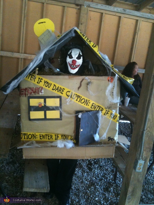 17 best images about architectural costumes on pinterest for How to make a cardboard haunted house
