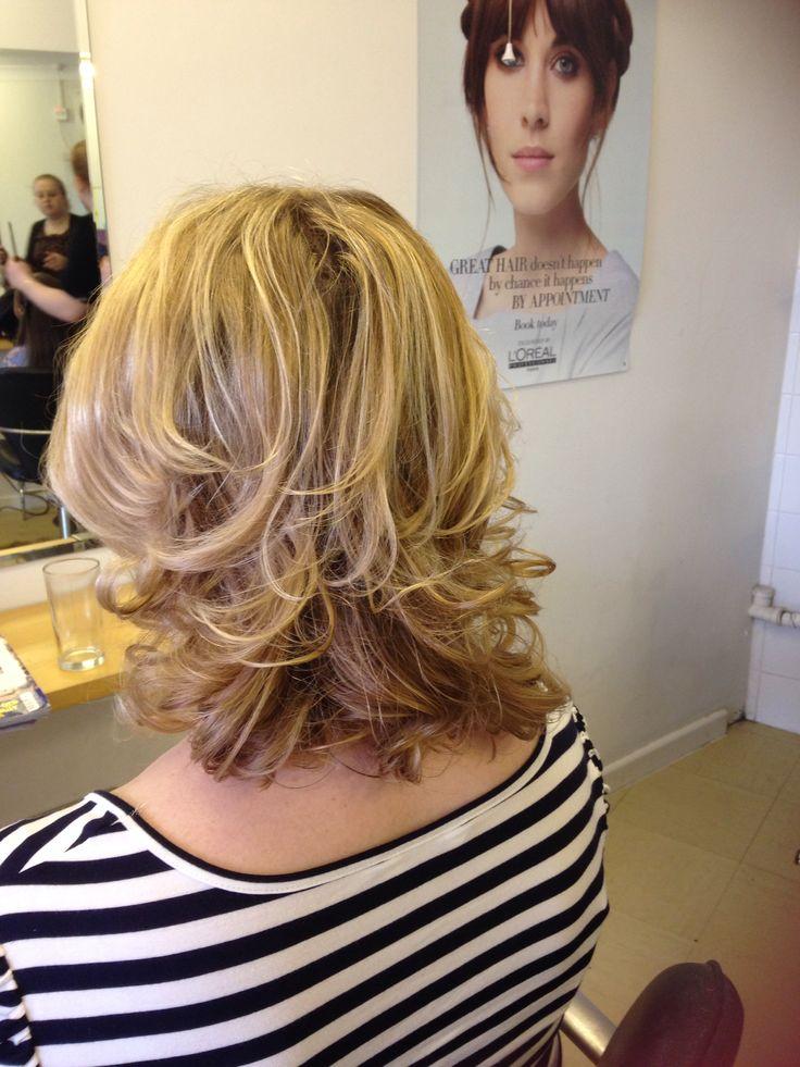 Curly blowdry