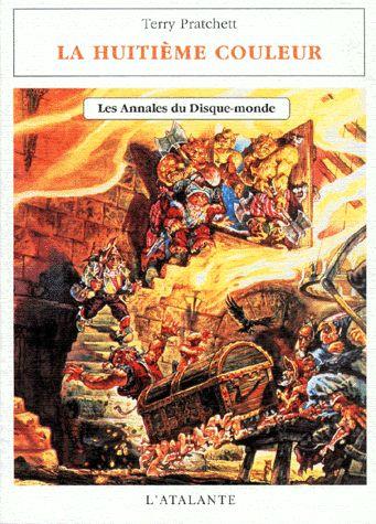 Les Annales du Disque-Monde, Tome 1 : La Huitième couleur par Terry Pratchett