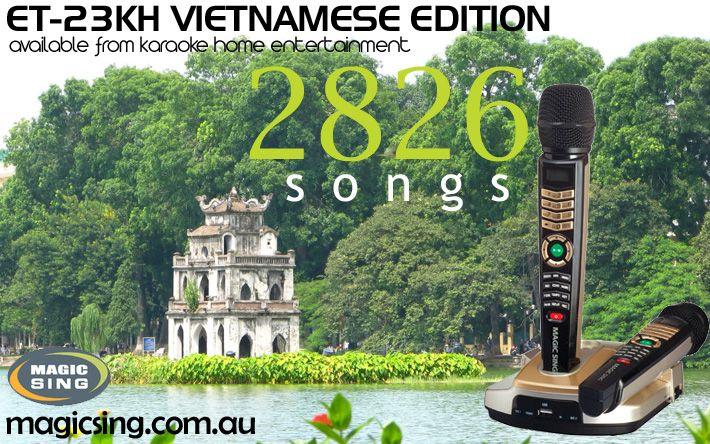 Vietnamese Edition Magic Sing Karaoke System ET-23KH