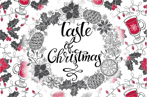 The taste of Christmas. by maritime_m on @creativemarket