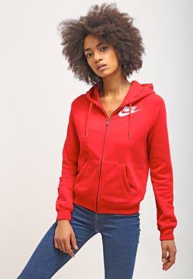 Truien & vesten Nike Sportswear RALLY - Sweatvesten - university red/university red/white Rood: 59,95 € Bij Zalando (op 23/04/16). Gratis verzending & retournering, geen minimum bestelwaarde en 100 dagen retourrecht!