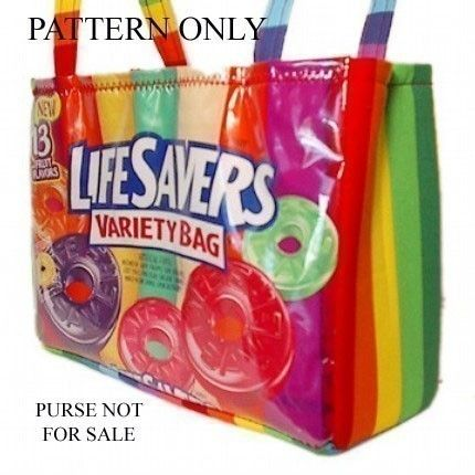 Candy Wrapper Purse Instructions Pdf Pattern By