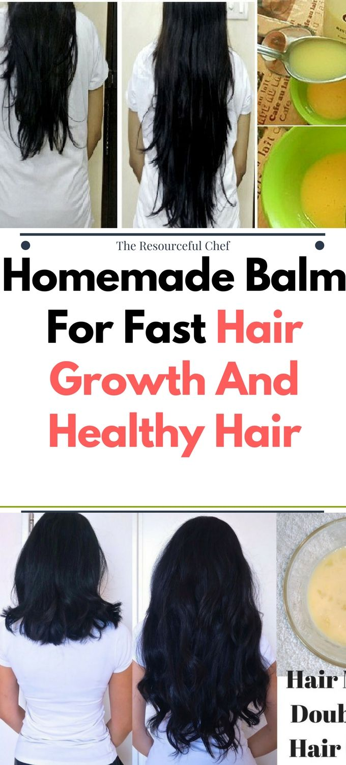 DIY Homemade Balm For Fast Hair Growth And Healthy Hair.!!