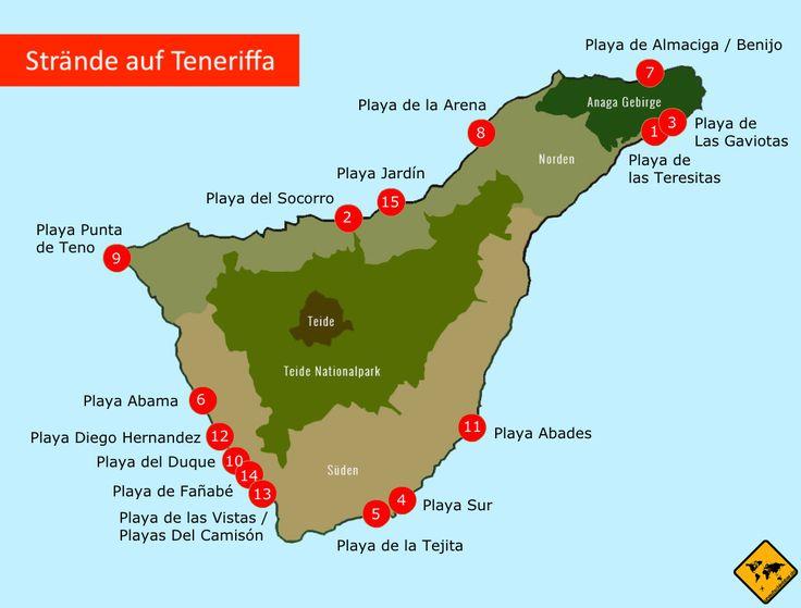 TOP 15 Strände auf Teneriffa – Hol dir die exklus…