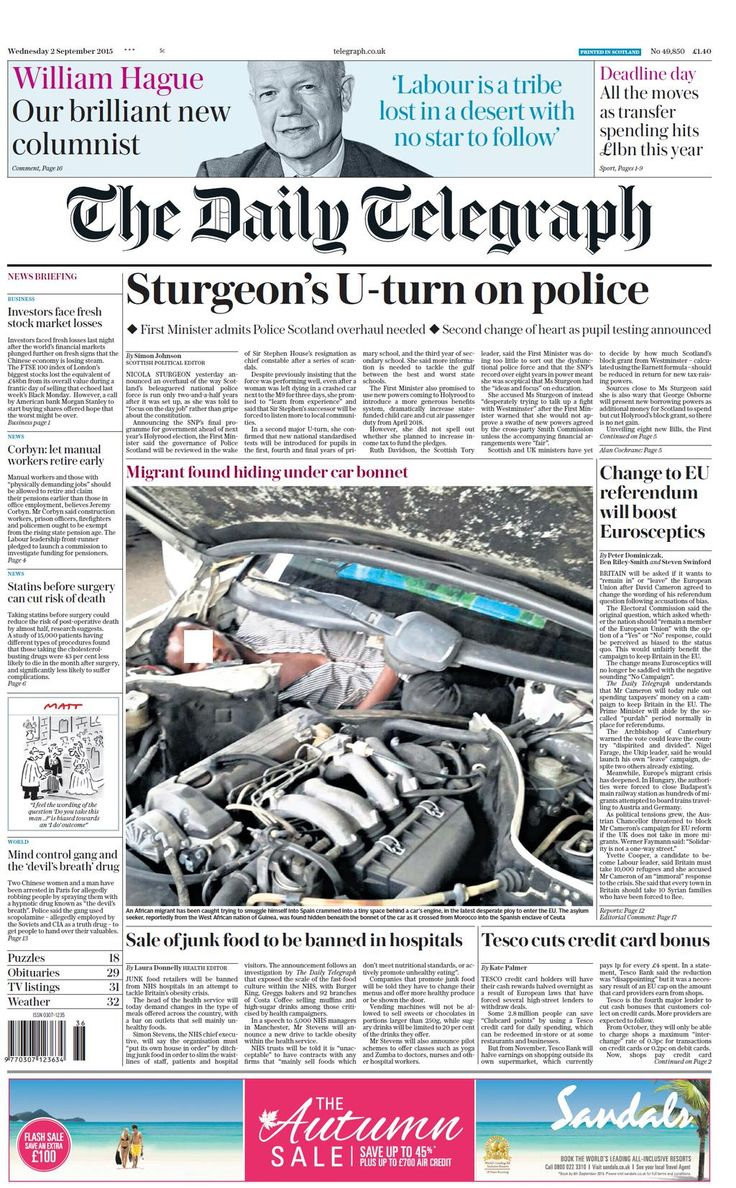 Daily Telegraph (Scotland)
