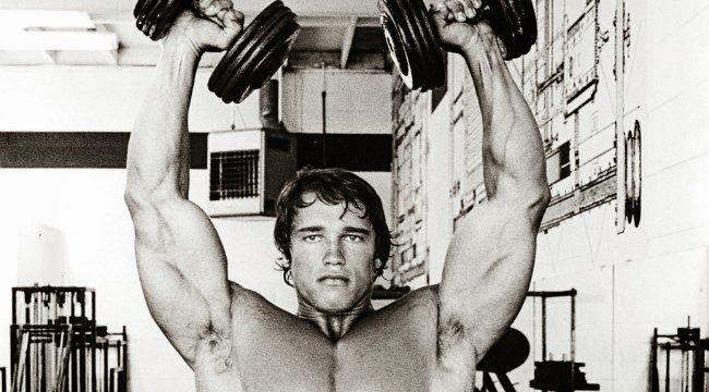 Πιέσεις Άρνολντ - Πρόγραμμα προπόνησης ώμων του Άρνολντ | Total Fitness