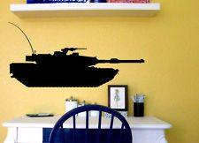 Military Army Tank Kid Room Vinyl Wall Decal Sticker