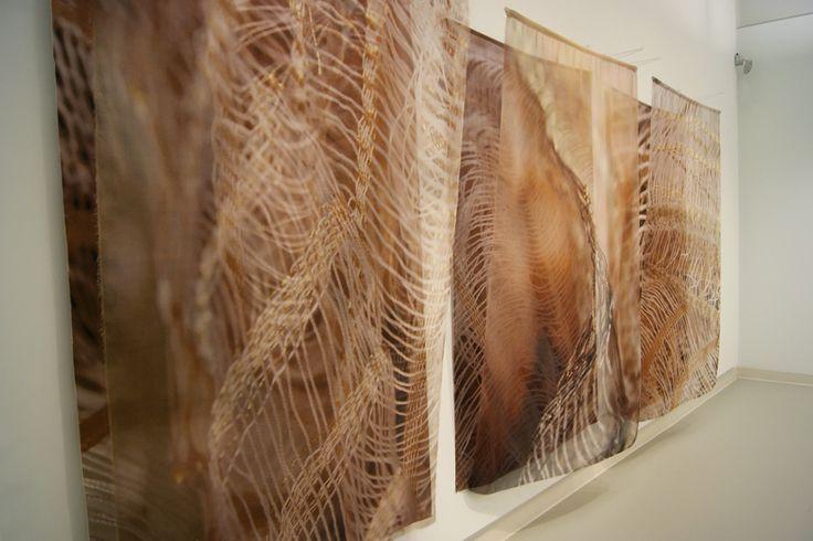Quiet Zone | Fibre Art Exhibition | The Gallery at Queen Elizabeth Park Community & Cultural Centre | World of Threads Festival | Common Thread International Exhibition | Fibre Art | International | Canadian | Textile Art | Contemporary Fiber Art | Oakville Ontario Canada ****