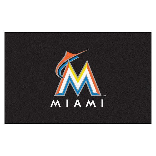 Miami Marlins 5' X 8' Ulti-Mat Area Rug Floor Mat