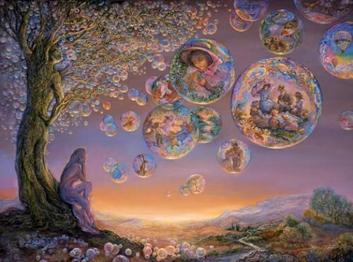 Josephine Wall: Bubble Tree on imgfave