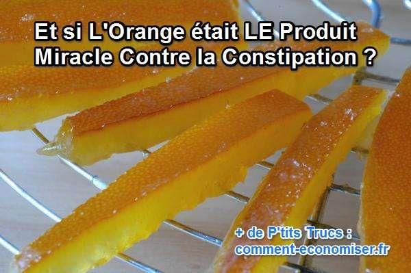 Ma grand-mère avait un délicieux remède pour lutter contre la constipation. Il suffit de manger des pelures d'oranges... Alors oui, comme cela, ça peut paraître bizarre, mais il y a une recette toute simple qui les rend bien meilleures. Regardez :) Découvrez l'astuce ici : http://www.comment-economiser.fr/orange-constipation.html?utm_content=bufferd6be4&utm_medium=social&utm_source=pinterest.com&utm_campaign=buffer