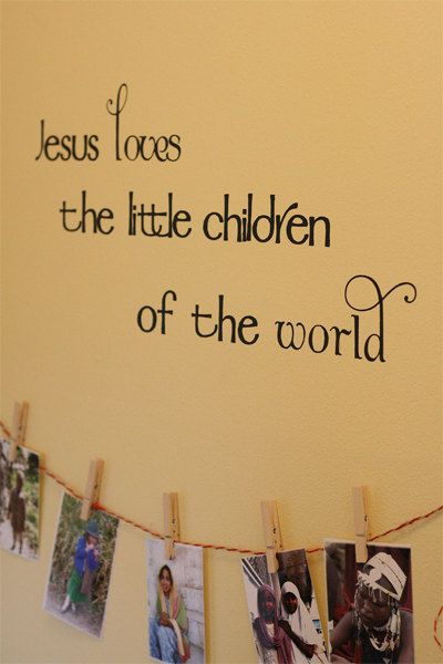 Unique Church Nursery Ideas On Pinterest Church Nursery - Wall decals for church nursery