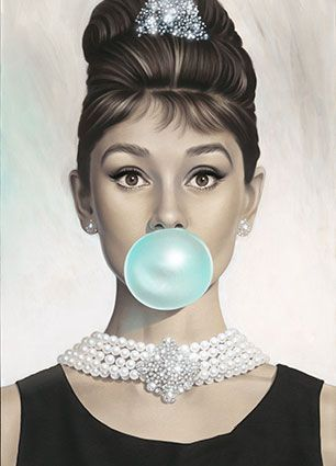Michael Moebius 'Tiffany Blue' Print - Crescent At Home Collection