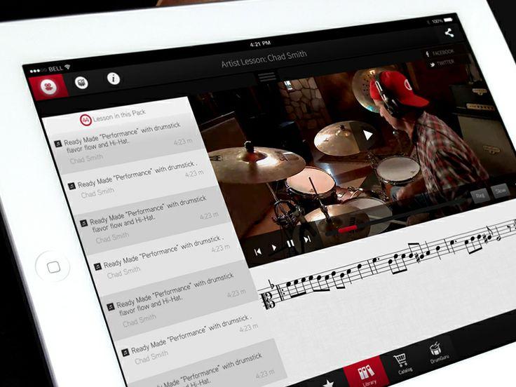 #drumguru #mobiledesign #webdesign #ipad  #application