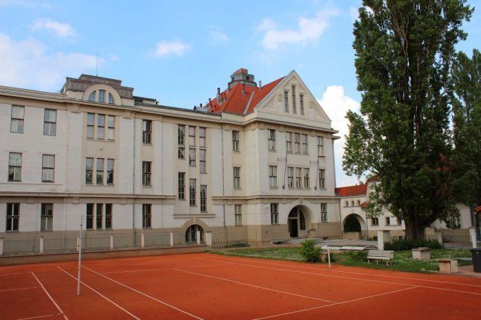Prague - Neighbourhood Ořechovka, Czech Republic.