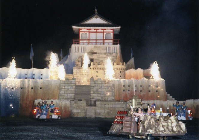 Takeshi's Castle...mad as a box of frogs but hilarious!