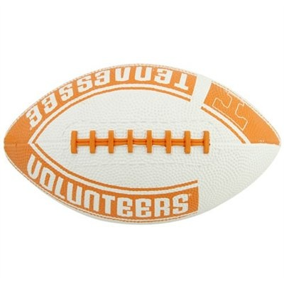 Tennessee Volunteers Youth White-Tennessee Orange Hail Mary Rubber Football  #UltimateTailgate  #Fanatics