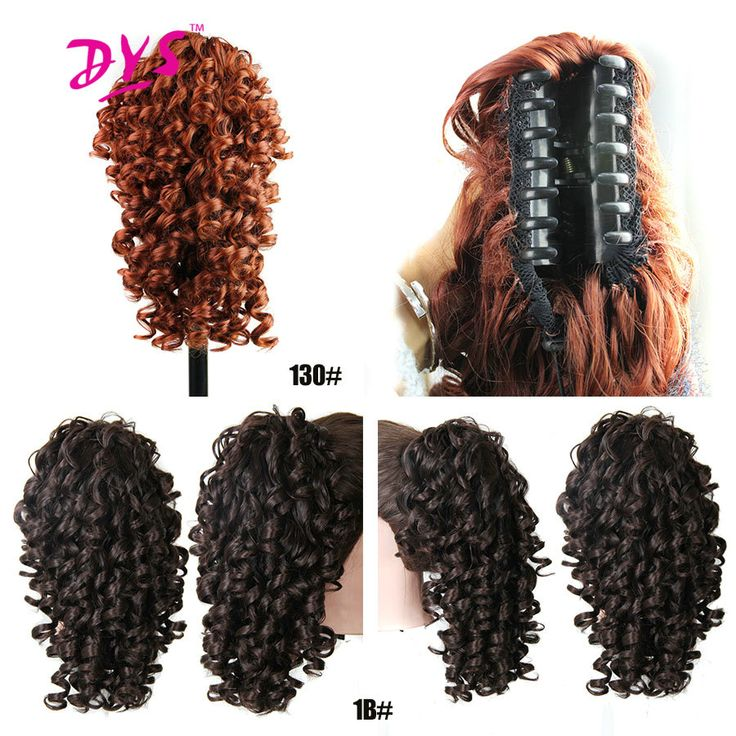 Deyngs Kinky Curly Claw In Ponytail Hair Extensions Fake Pony Tail Piece Red Click Visit To Buy