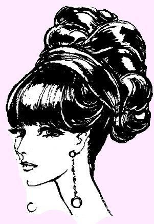 40's and 50's hair styling tips
