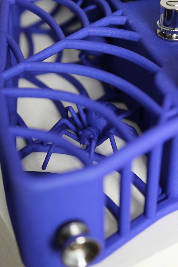 Another great shot of the detail in Olaf Diegel's 3D printed guitars.