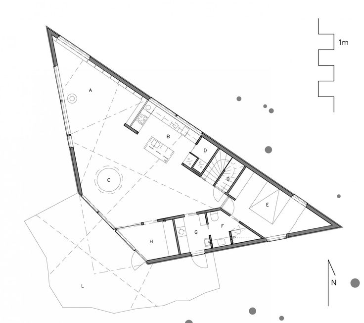 TRIANGLE HOUSE - L1 PLAN