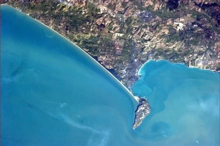 Weymouth, Portland & Chesil Bank - the aerial view