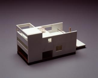 99/34/3 Architectural model, Charles R. Cullen House, cork / plastic, designed by Glenn Murcutt, Australia, 1972-74 - Powerhouse Museum Collection