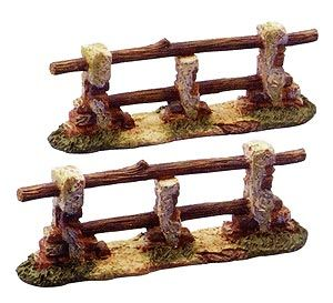 5 Inch Scale Fence Set of 2 by Fontanini Fontanini