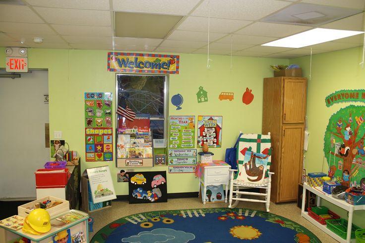 Modern Classroom Decorating Ideas : Light green walls ok modern kindergarten classroom pb j