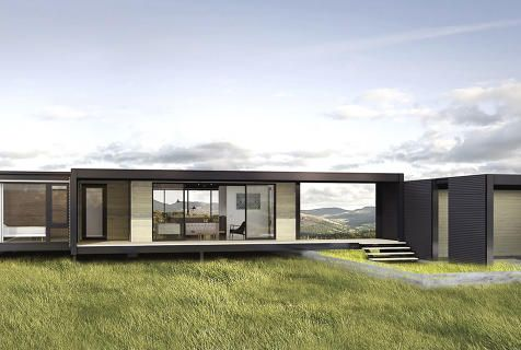 2 | These Gorgeous Sustainable Pre-Fab Houses Fit In A Shipping Container | Co.Exist | world changing ideas and innovation